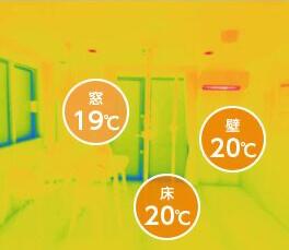 SWのこれからの家 窓19℃ 壁20℃ 床20℃